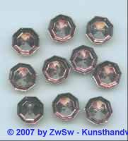 Strassknopf 1 Stück, Ø 13mm amethyst