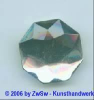 1 Solitärstein kristall aus Acryl 8-eckig, 26mm x 26mm