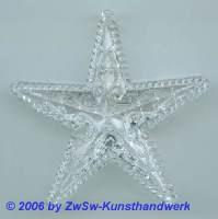 Stern aus Acrylglas, ca. Ø 60mm