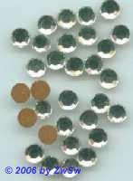 Strassstein 1 Stück, Ø 6,5mm  (kristall)