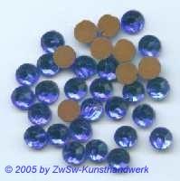 Strassstein 1 Stück, Ø 6,5mm  (blau)