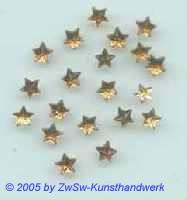 1 Strass/Sternchenform (dunkeltopas), Ø 5mm