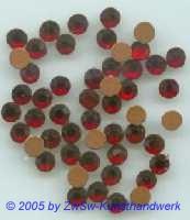 Strassstein 1 Stück, Ø 5mm  (granat)