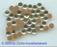 Strasssteine 1 Stück, 4mm Ø (lichtgelb)