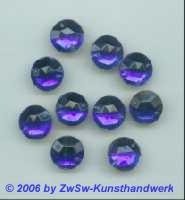 Strassstein 1 Stück, Ø 15mm  (blau)
