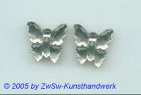 1 Schmetterling 17mm x 17mm (kristall)