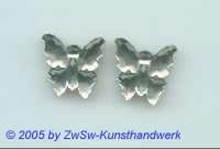 1 Schmetterling 17mm x 17mm (kristall)