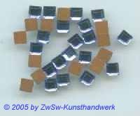 Strassstein 1 Stück, 4mm x 4mm (blau)