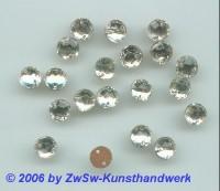 Strassstein 1 Stück, Ø 7mm (kristall)