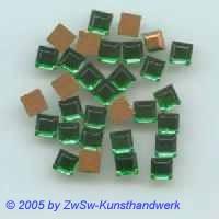 Strassstein 1 Stück, 4mm x 4mm (grün)