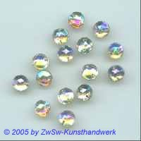 Stassstein 1 Stück, Ø 7mm  (kristall/AB)