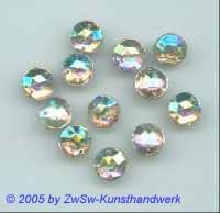 Strassstein 1 Stück, Ø 13mm  (kristall/ AB)