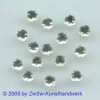Kleeblatt, 1 Stück Ø 4,5mm (kristall)
