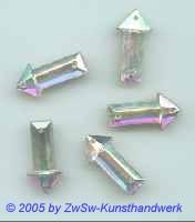 Pfeil 1 Stück, 20mm x 10mm  (kristall/AB)