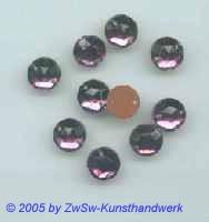 Strassstein Ø 7mm  (veilchen) , 1 Stück