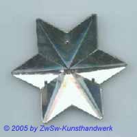 1 Stern verspiegelt ca. Ø 50mm
