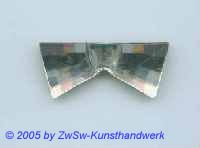 Strassstein in Fliegenform (kristall)