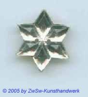 Strassstein 1 Stück, Ø 16mm  (kristall)