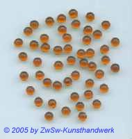 Muggel-Stein 1 Stück, Ø 4,5mm  (bernstein)