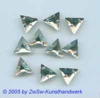 Strass/Dreieckform 13mm (kristall) 1 Stück