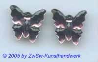 1 Strassstein in Schmetterlingsform (amethyst)