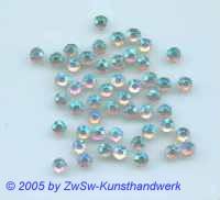 Strassstein 1 Stück, Ø 7mm (kristall/AB)