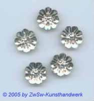 Strassstein Blume 1 Stück, Ø 13mm (kristall)