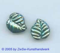 Strassstein in Blattform 1 Stück, 15mm x 14mm (scarabee)