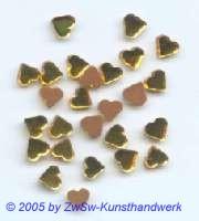 1 Strassstein in Herzform (gelb), 5mm