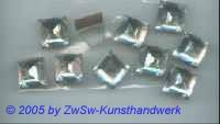 Strassstein 1 Stück, Prisma  (kristall)