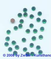 Strassstein 1 Stück, 4mm Ø (grün)