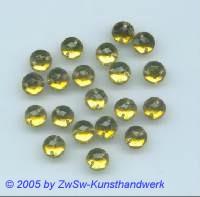 Strassstein 1 Stück, Ø 7mm (olivin)