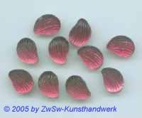 1 Muschelstrassstein fuchsia/seidenglanz