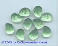 1 Muschelstrassstein peridot/seidenglanz