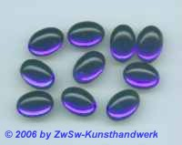 1 Muggel-Stein 14mm x 9mm dunkelblau