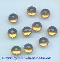 Strassstein 1 Stück, Ø 9mm (topas)