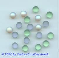 Muggelstein pastell/gemischt, Ø 6,5mm, 1 Stück