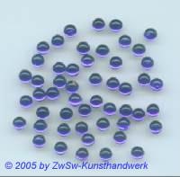 Muggelstein dunkelblau, Ø 5mm, 1 Stück