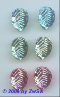 Blatt aquamarine/AB 1 Stück