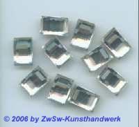 Prismenstein kristall 1 Stück, 12mm x 8mm