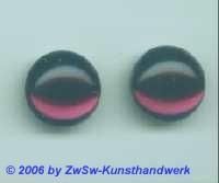 Muggelsteine amethyst, 1 Stück, Ø 14mm