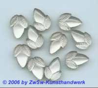 Eichenfrucht kristall gefrostet 1 Stück, 16mm x 11mm
