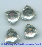 Dreieck kristall 1 Stück, 18mm x 18mm