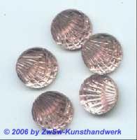 Jakobsmuschel, Ø 14mm 1 Stück rosa
