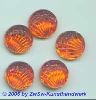 Jakobsmuschel, Ø 14mm 1 Stück orange