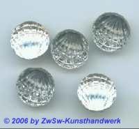 Jakobsmuschel, Ø 14mm 1 Stück kristall