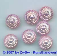 1 Zierstein, Ø 18mm rosa/AB