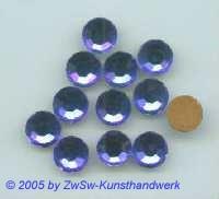 Strassstein 1 Stück, Ø 10mm (blau)