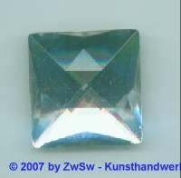 1Strassstein kristall 30mm x 30mm
