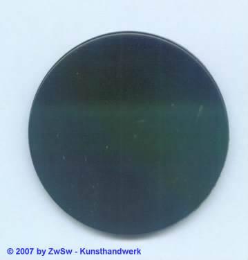 Glasplatte schwarz, Ø 50mm 1 Stück